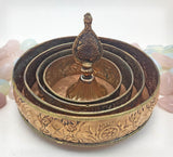 Mandala Offering Set in Copper Med   #8