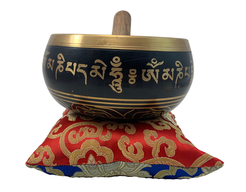 Singing Bowl Mantra Lg #4