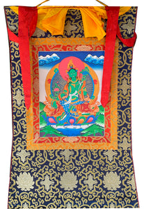 Green Tara Thangka #5