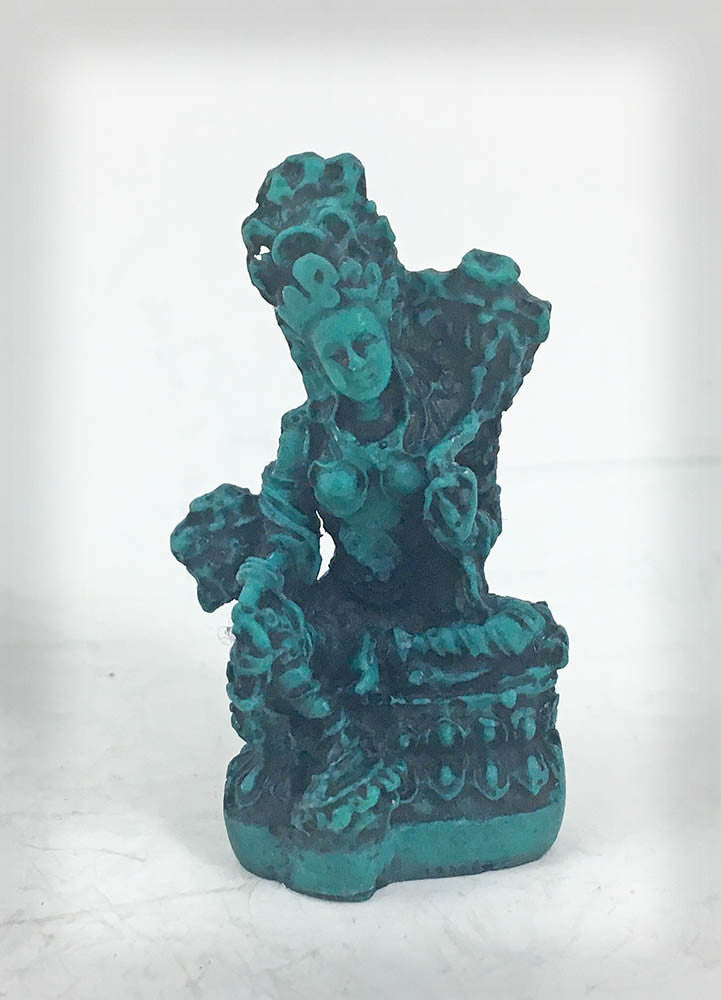 Tiny Treasure Green Tara #55