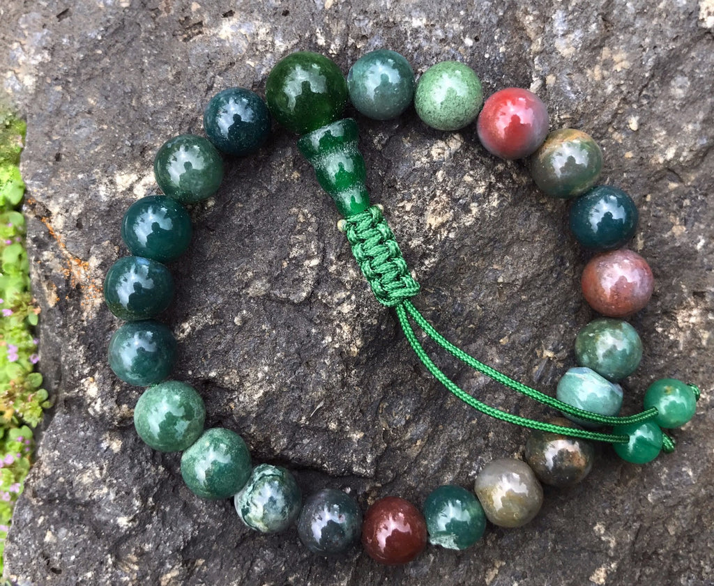 Mixedstone Wrist Mala: Adjustable #10
