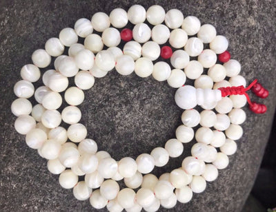Mother of Pearl Mala #27