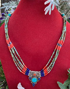 Magestic Tibetan Necklace