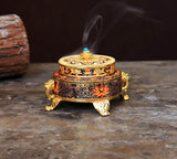 Auspicious Design Rice Pot