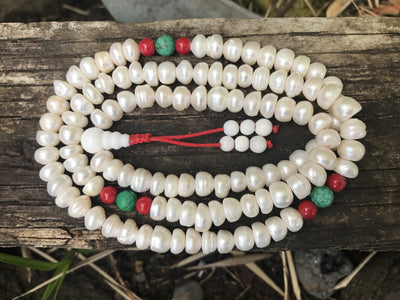 Pearl Adjustable Mala Bead #33