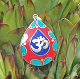 Om Oval Pendant #34