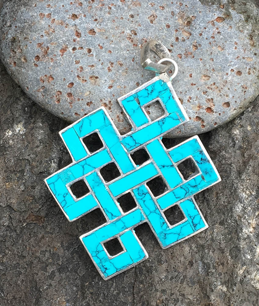 Endless Knot Pendant #4