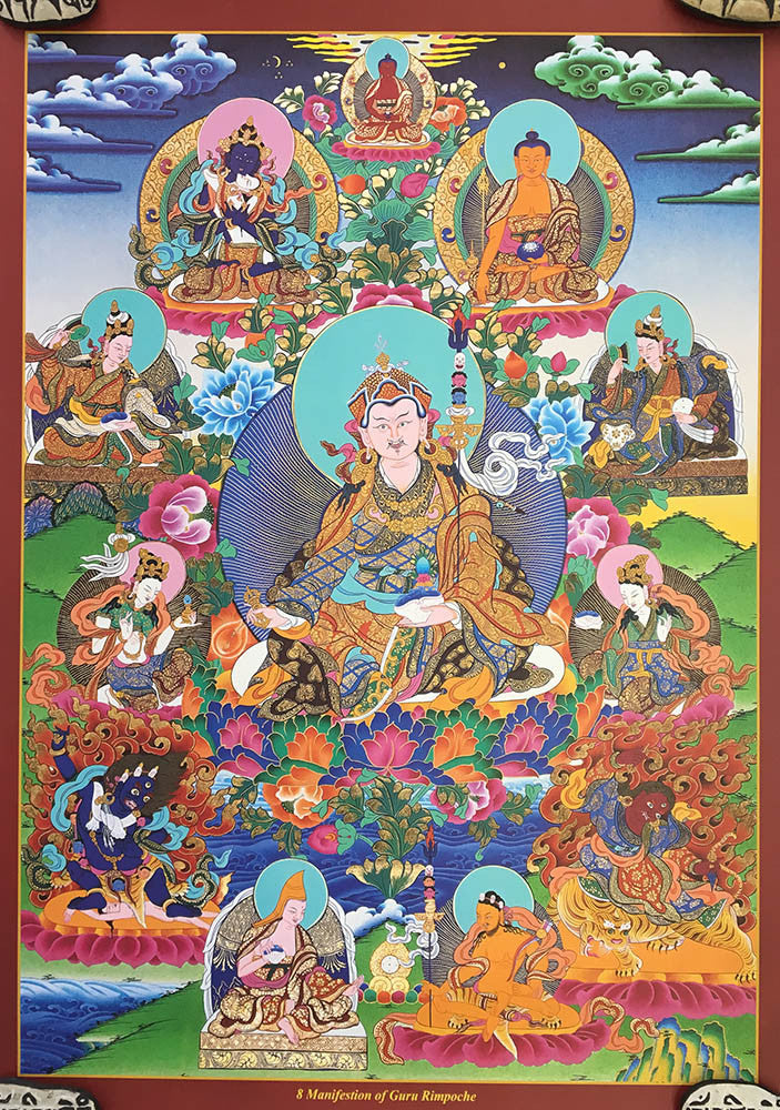 Padmasambhava with Manifestation #11 new