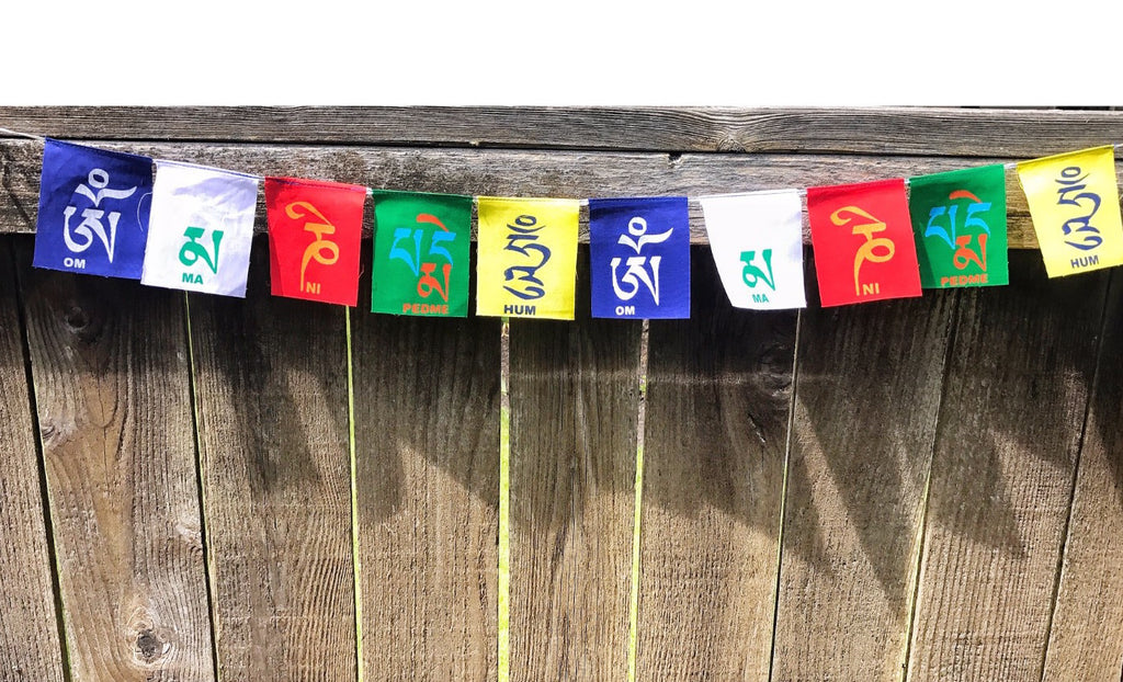 Prayer flag Compassion Mantra Flag  #17