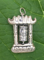MONASTERY PRAYER WHEEL PENDANT #3