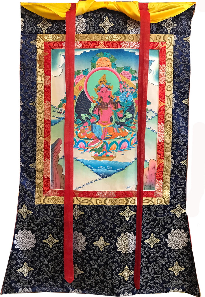 Red Tara Thangka # 27
