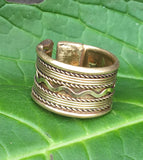 Ethnic Brass Ring #11
