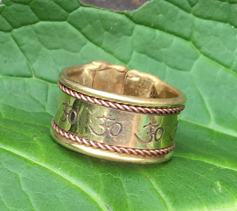 Om Brass Ring #9