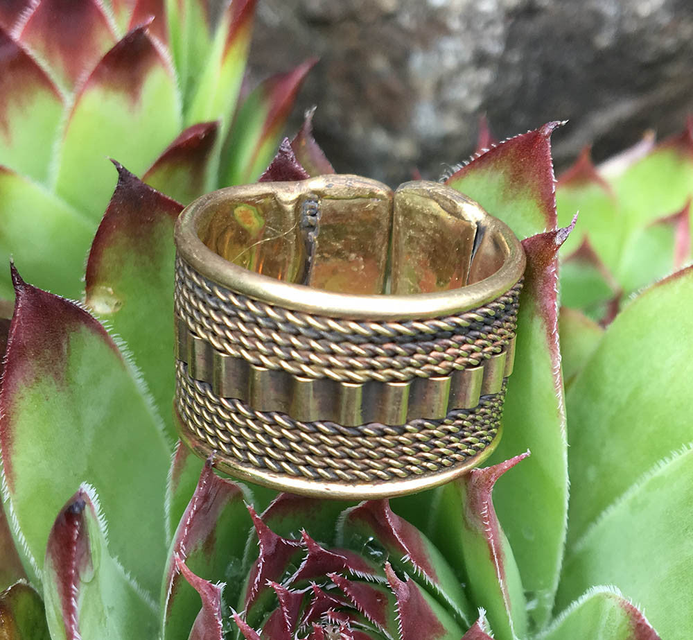 Tribal Brass Ring #8