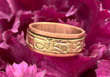 Copper Spinner Ring