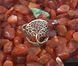 Tree of Life Silver Ring #17