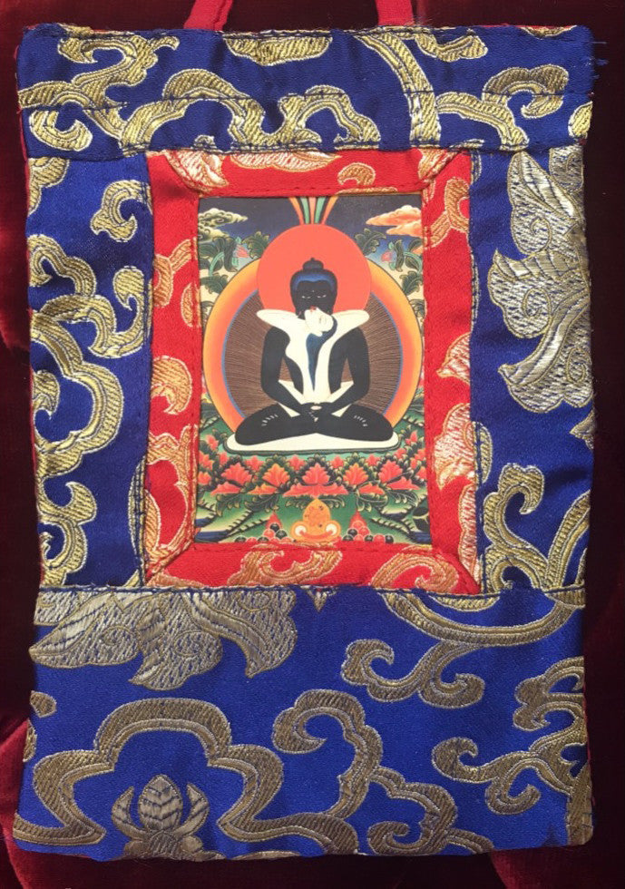 Samantabhadra Mini Thangka #2
