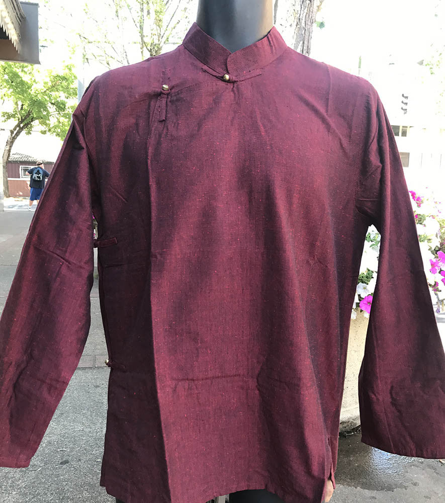 Tibetan Shirt Marron #21 Sd