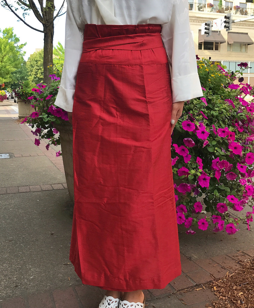 Silky Tanju Meditation Skirt #22