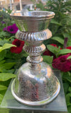 Silver Butter Lamp Large #14