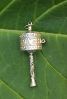 PRAYER WHEEL PENDANT #9