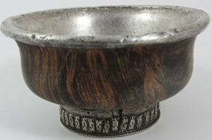Antique Tibetan Burlwood Cup #6