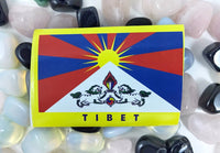 Tibetan Flag Sticker #3