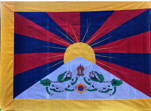 Tibetan National Flag Hand Made # 4
