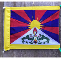 Tibetan National Flag Small # 1.