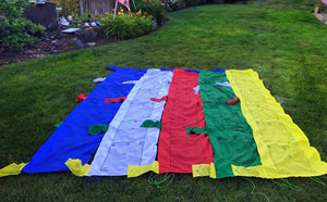 Prayer Flag Tibetan Pole # 10