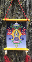 Auspicious Design Tiny Thangka