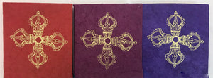 Vajra Cross Print Notebook #2