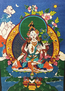 White Tara Wall Hanging #5