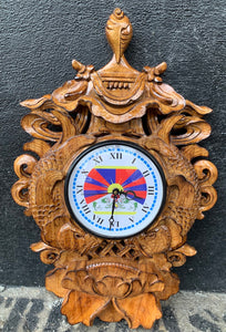 Auspicious Design Wall Clock