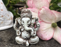White Resin Ganesh #1