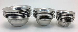 Offering Bowl: White Metal  #4