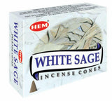 White Sage Cone Incense #9