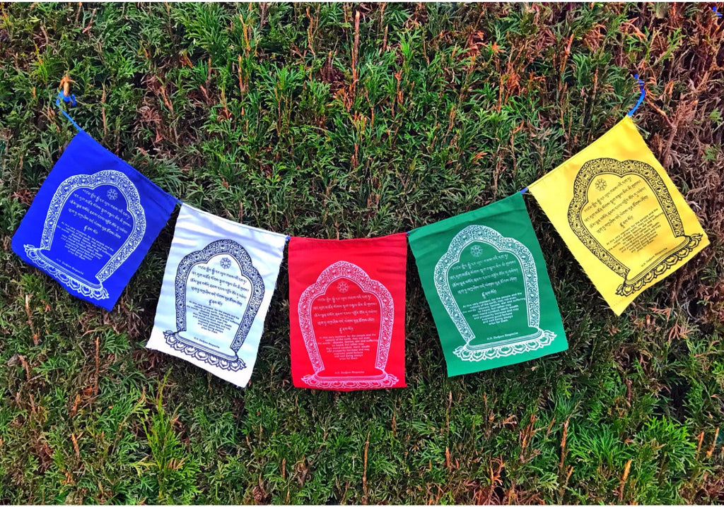 Prayer Flag World Peace  #4