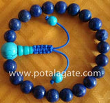 Lapis Hand Mala: Adjustable #8