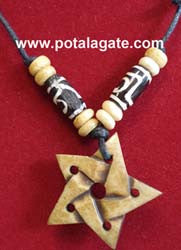 Star Bone Necklace #9