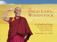 The Dalai Lama in Woodstock #21
