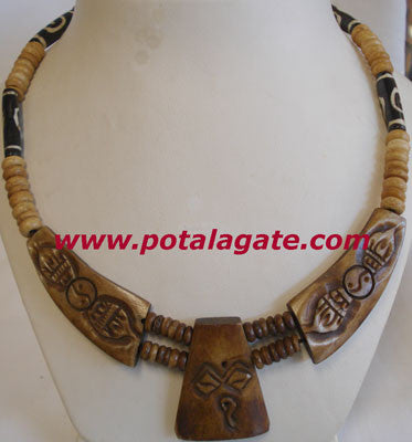 Vajra with Buddha Eye Necklace #44