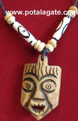 Mahakala Bone Necklace #6
