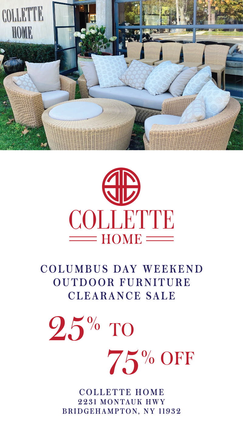 Our Columbus Day Outdoor Sale Starts Today!