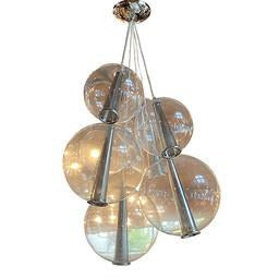 Arteriors Glass Bubbles Chandelier - colletteconsignment.com