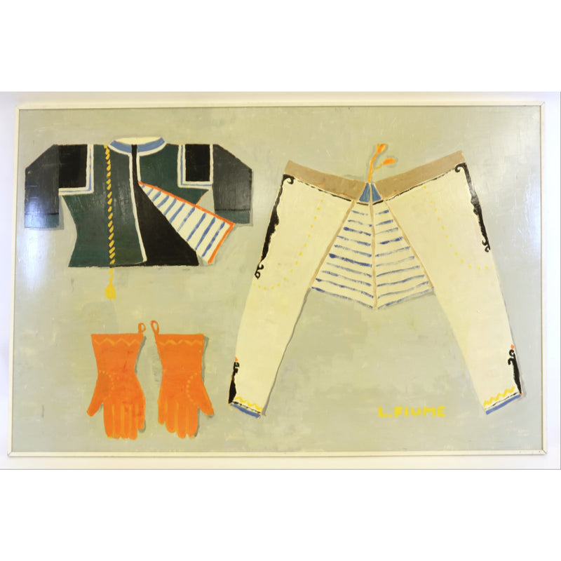 "Laura Fiume, ""Soldier's Uniform"" - colletteconsignment.com"