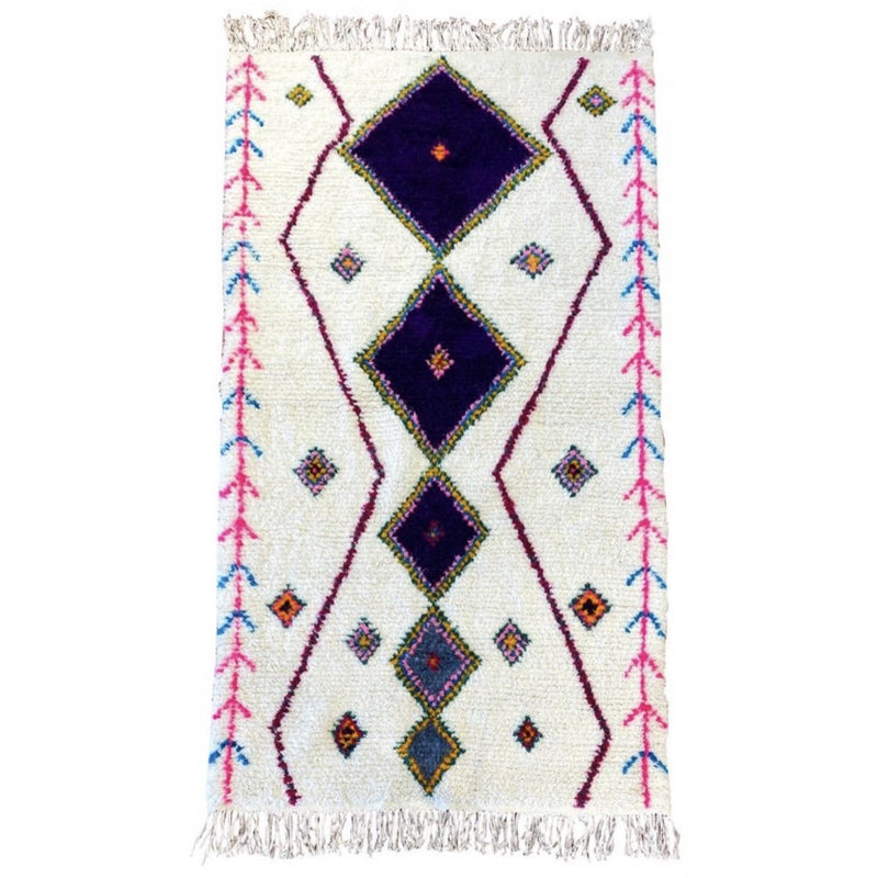 Moroccan Shag Rug - colletteconsignment.com