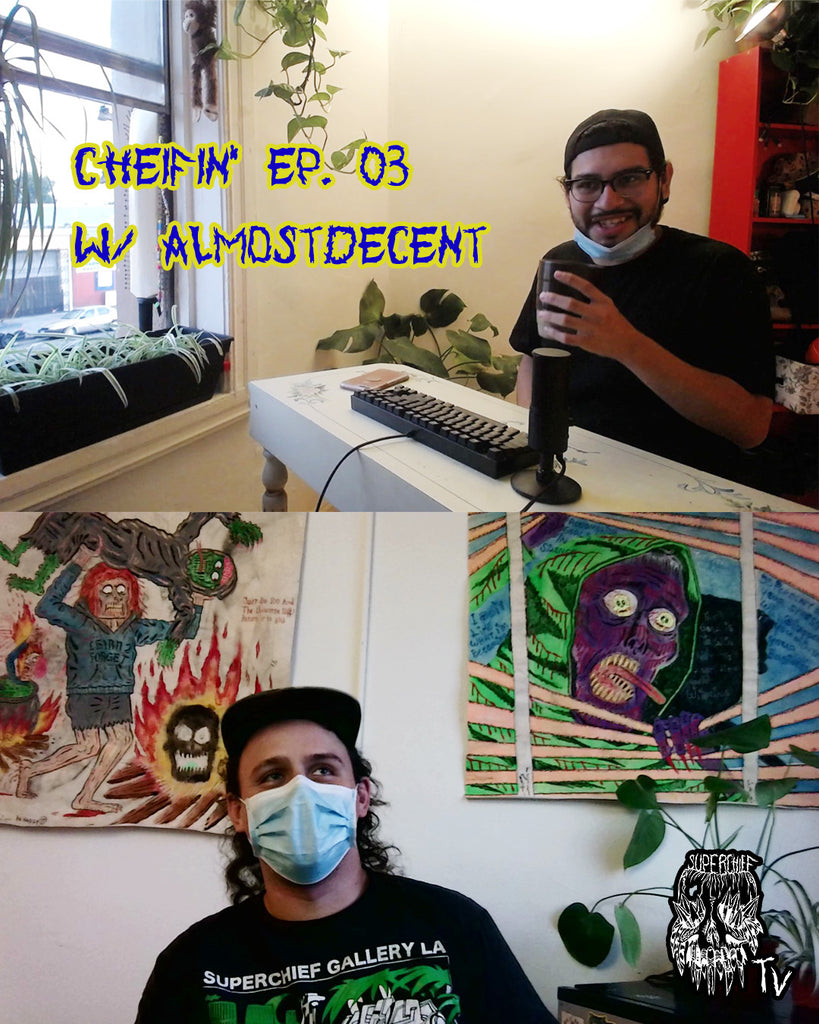 Episode #3: CHIEFIN' with Almost Decent Podcast | Superchief Radio
