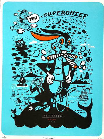 Silly Wabbit Print - Lee Trice (Signed Edition of 100)