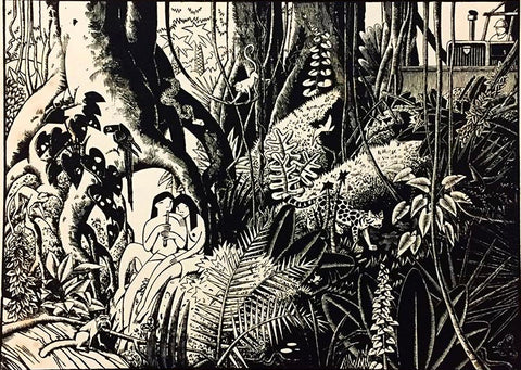 Guy Colwell - Rainforest Print